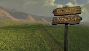 sign direction quality - leadership