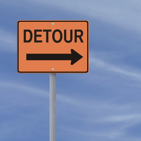 Three Reasons Why Life's Detours May Be Just What You Need